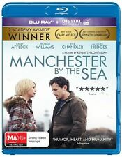 MANCHESTER BY THE SEA - Region B Blu-Ray - BRAND NEW/Sealed