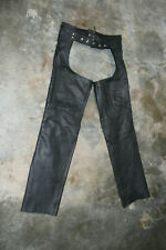 USA Bikers Leather Leather Chaps MOTORCYCLE size Small