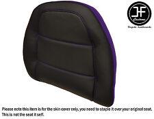 STYLE2 PURPLE BLACK VINYL CUSTOM FOR HONDA GOLDWING GL 1500 88-00 BACKREST COVER