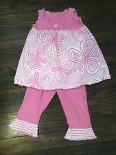 Mis Tee V-Us Guc Girl's Capri Set Size 6/7