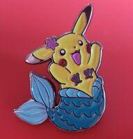 Pokemon Pikachu Mermaid Pin Enamel Brooch Lapel Badge Cosplay Gift POGO Gaming