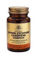 Solgar naturale di luteina Licopene Carotene Complex capsule vegetali, 30