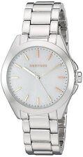 Rampage Women's Watch Glitter Dial Silver Toned Bracelet Quartz Watch RP1068SL