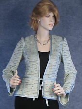 STUNNING! ST JOHN EVENING SHIMMER KNIT JACKET  SZ 6 EXCELLENT!