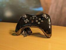 Nintendo Wii U Pro Controller (WUP-005) Black Wireless Gamepad
