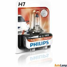 PHILIPS H7 Halogen Vision 12V 100W PX26d Headlight Bulb Rally off-road Single
