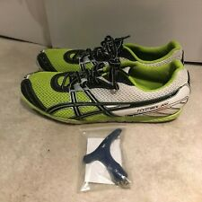 ASICS Hyper XC Cross Country Spikes - Yellow + White - Men's Size 11.5 W/ Wrench