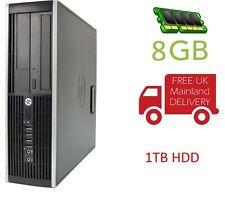 CHEAP COMPUTER HP 6200 i5 8GB RAM 1TB HDD DVD Windows 10 PRO pre-loaded