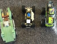 3 Lego Cars And 1 Minifigure Free Shipping