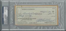ROBERTO CLEMENTE SIGNED PSA/DNA PERSONAL CHECK CERTIFIED AUTHENTIC AUTOGRAPH