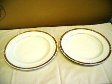 Unboxed Earthenware Booths Pottery Dinner Plates