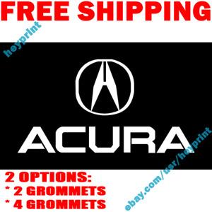 Acura Logo Flag Banner 3x5 ft Racing Car Shop Garage Wall Decor Sign 2019 NEW