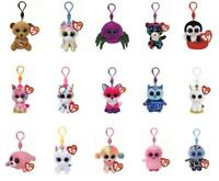 Ty Beanie Babies Boos Key Clip Keyring Plush Soft Toys: Choose from a selection