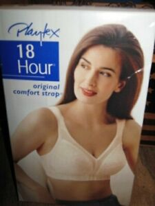 PLAYTEX 18 Hour Comfort Strap Bra, Soft Cup, Natural Beige #4693 Size 40DD NEW