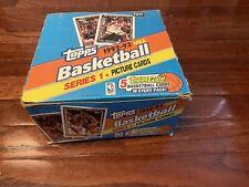 1992 Topps Basketball Series 1 JUMBO Box 5 Gold Per Pack Unopened JORDAN M48