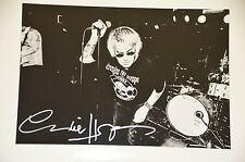 Charlie Harper from UK Subs signed 20x30cm Foto Autogramm Autograph in Person ..