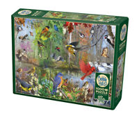 Birds of the Season Jigsaw Puzzle & Poster - 1000 Pieces