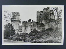 Warwick Castle The Ramparts Warwickshire England UK Real Photo Postcard Vintage