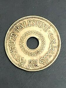 Palestine 20 Mils, 1935, *Rare coin*, Only 575,000 minted!