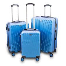 """Reisekofferset 3-teilig Hartschalenkoffer Trolley Koffer Modell """"Style"""" Blau"""
