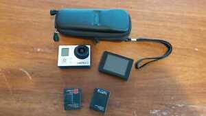 GoPro Hero3 White Edition Camcorder - Silber/Schwarz   Inkl. LCD-Bildschirm