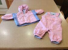 EUC Kids Two Piece Columbia Snowsuit W Hood -6 Months - Winter Coat & Snow Pants