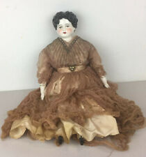 "Vintage 22"" China Head Doll on Cloth Body"
