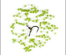 20 translucent green hook beads carp barbel coarse fishing tackle FREE POST