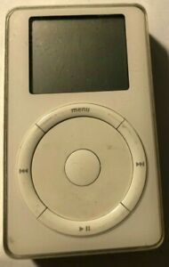 [Untested] iPod classic 2nd Gen White (10 GB) A1019 Fast Ship Very Good Used 1