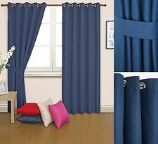 Solid Contemporary Curtains & Pelmets