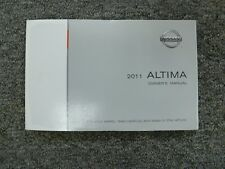 2011 Nissan Altima Sedan Coupe Owner Operator Manual User Guide S SR 2.5L 3.5L
