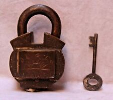 Padlock With Key Made In Aligarh By D.L. And Co. And Very Tough To Break IR 149