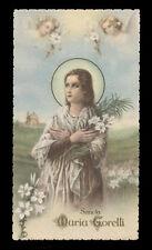 """santino-holy card""""""""ediz. NB n.6083 S.MARIA GORETTI"""