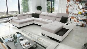 Brand New Corner Sofa Bed With Storage  Alicante VI