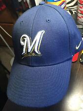 Milwaukee Brewers MLB Pinch Hitter Team New Era Adjustable Navy Baseball  Hat Cap f1a1302a17fa