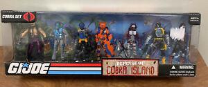 2009 GI Joe - Defense of Cobra Island Figures Set