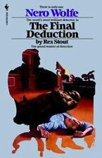Nero Wolfe: The Final Deduction 35 by Rex Stout (1995, Paperback)