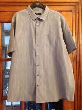 BNWOT Florence & Fred Grey Striped Short Sleeve Short Size XXL