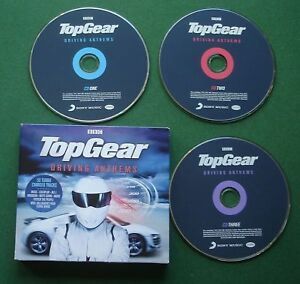 Top Gear Driving Anthems Muse Oasis James Biffy Clyro New Order + Digipak 3 x CD