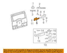 TOYOTA OEM 07-14 FJ Cruiser Back Door-Finish Molding Left 7581635012