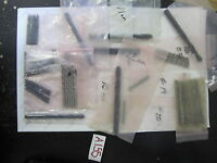 Lot of 35 random Assorted Sized Drill Bits Straight Shank HSS