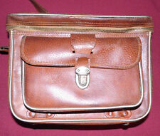 ELITE CAMERA BAG, FULL LEATHER, VINTAGE - MADE IN JAPAN FREE SHIPPING