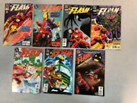 Lot Run Of 7 Flash Comics 101 102 103 104 105 106 107 DC Waid