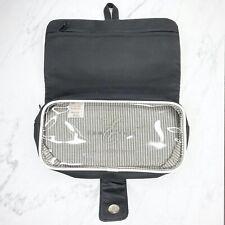 Emma James Black Transparent Makeup Cosmetic Beauty Travel Bag