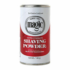 Magic Rosso depilatore rasatura polvere Extra Strength razorless da barba Stop Urti