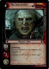 LoTR TCG Mount Doom Orc Slaughterer FOIL 10R95