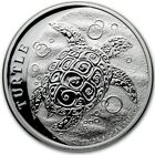 2021 1 Oz Silver $2 Niue HAWKSBILL TURTLE BU Coin.