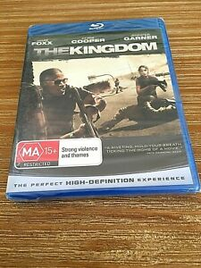 THE KINGDOM Blu-ray *BRAND NEW SEALED* 2007 Jamie Foxx Action Crime