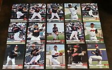 2019 TOPPS NOW CLEVELAND INDIANS ROAD TO OPENING DAY 15-CARD TEAM SET - PR 118