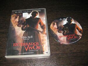 ENTERRADOS VIVOS DVD TERENCE JAY LEAH RACHEL TOBIN BELL